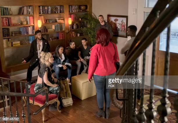 Jude Demorest Luke James Ryan Destiny Brittany O'Grady guest stars Evan Ross Matthew Noszka Lance Gross and Queen Latifah in the Let the Good Times...