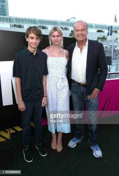 Jude Gordon Grammer Mason Olivia Grammer and Kelsey Grammer attend the #IMDboat Party presented by Soylent and Fire TV at San Diego ComicCon 2019 at...