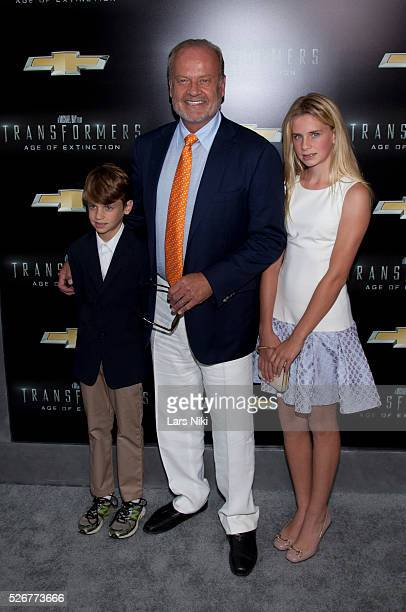 Jude Grammer Kelsey Grammer and Mason Grammer attend the US premiere of Transformers Age of Extinction at the Ziegfeld Theatre in New York City �� LAN