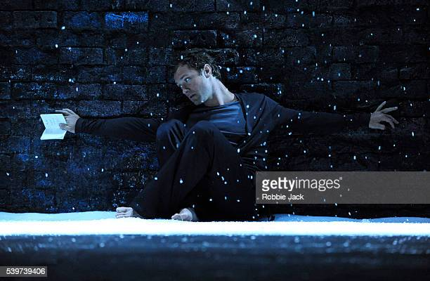 Jude Law as Hamlet in the Donmar's production of William Shakespeare's play 'Hamlet' directed by Michael Grandage at Wyndhams Theatre in London