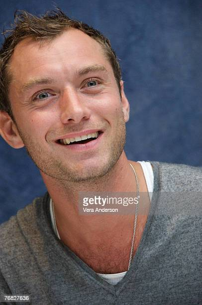 Jude Law at the Sleuth press conference at the Park Hyatt Hotel in Toronto Canada on September 11 2007