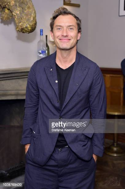Jude Law at the VOX LUX premiere party hosted by GREY GOOSE Vodka and Soho House at Soho House Toronto on September 7 2018 in Toronto Canada