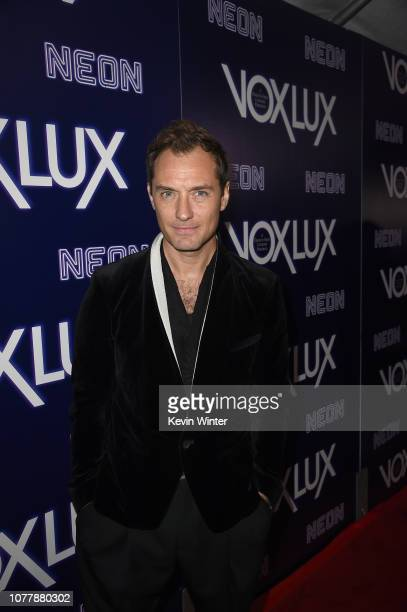 Jude Law attends premiere of Neon's Vox Lux at ArcLight Hollywood on December 05 2018 in Hollywood California