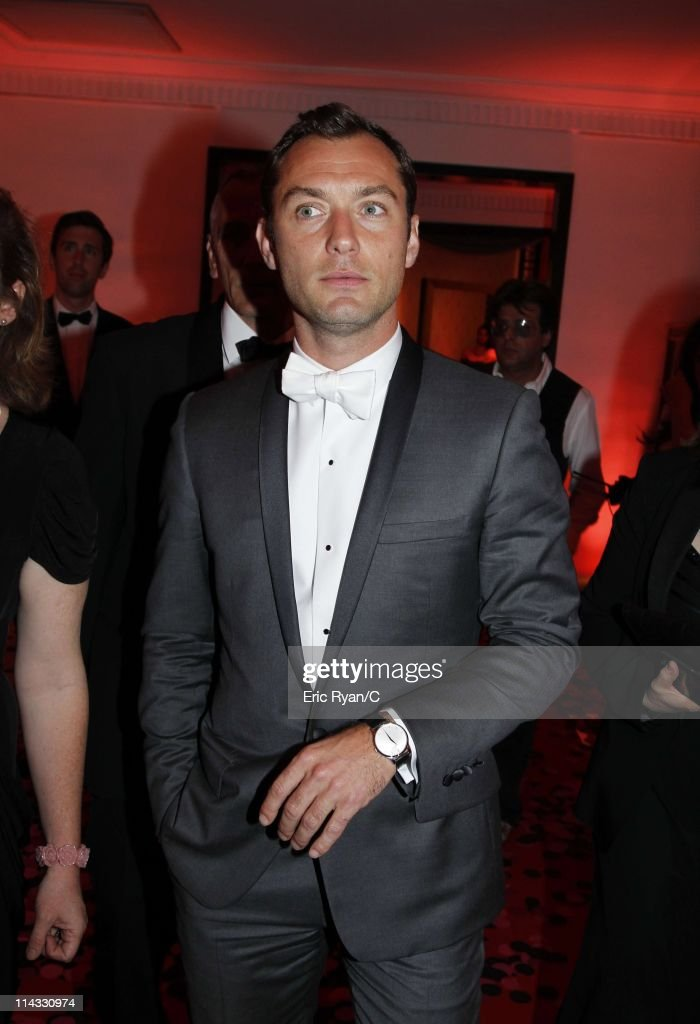 Jude Law attends the Diamonds Are Girls Best Friend event during the 64th Annual Cannes Film Festival held at Hotel Martinez on May 16, 2011 in Cannes, France.
