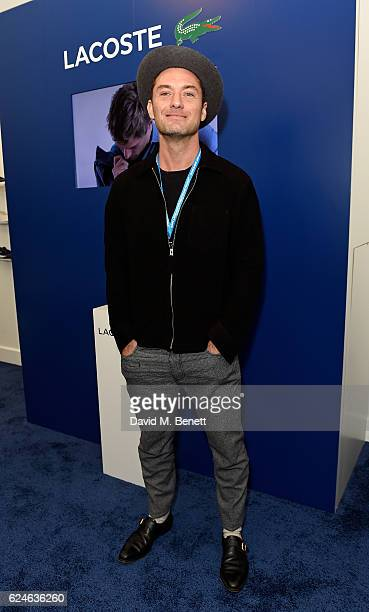 Jude Law attends the Lacoste VIP Lounge at ATP World Finals 2016 on November 20 2016 in London England