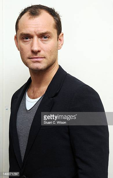 Jude Law attends the launch of 'Peace One Day's Global Truce' 2012 Student Campaign at the University Of London Union on February 27 2012 in London...