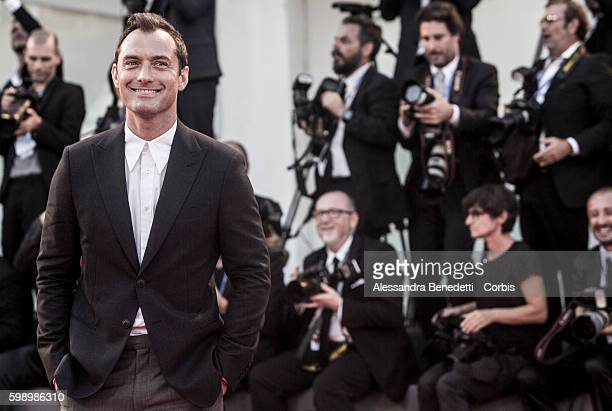 Jude Law attends the premiere for 'The Young Pope' during the 73rd Venice Film Festival on September 3, 2016 in Venice, Italy.