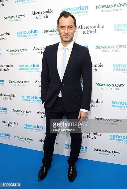 Jude Law attends the SeriousFun Children's Network London Gala 2016 at The Roundhouse on November 3 2016 in London England