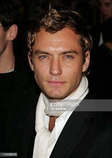 Jude Law during Alfie New York City Premiere Outside Arrivals at Clearview's Ziegfeld Theater in New York City New York United States