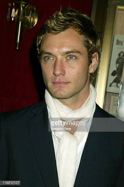 Jude Law during Alfie New York Premiere Inside Arrivals at Ziegfield Theater in New York City New York United States
