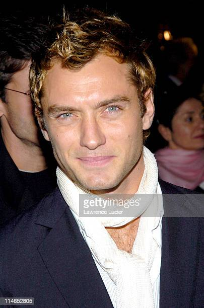 Jude Law during Alfie New York Premiere Red Carpet Arrivals at Ziegfield Theater in New York City New York United States