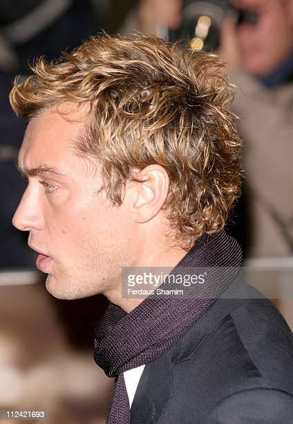 Jude Law during Alfie World Charity Premiere in Aid of Make A Wish Arrivals at Empire Leicester Square in London Great Britain