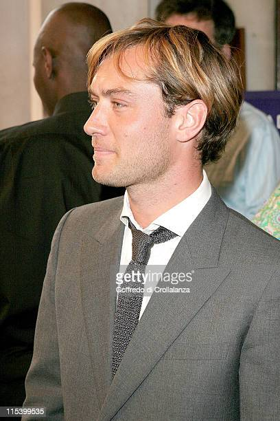 Jude Law during 'As You Like It' West End Opening Night Gala Press Night at Wyndham's Theatre in London Great Britain