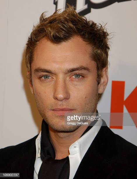 Jude Law during Cold Mountain Los Angeles Premiere at Mann National Theatre in Westwood California United States