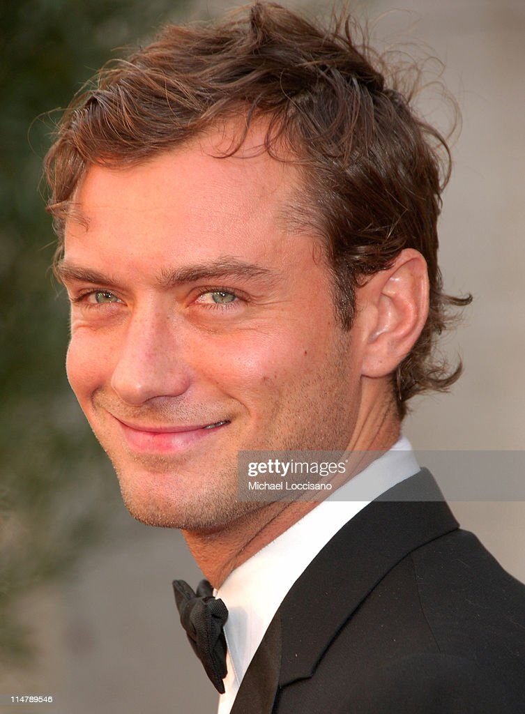 Jude Law during 'Madama Butterfly' Opening Night Starting the Lincoln Center Metropolitan Opera 2006-2007 Season at Lincoln Center in New York, New York, United States.