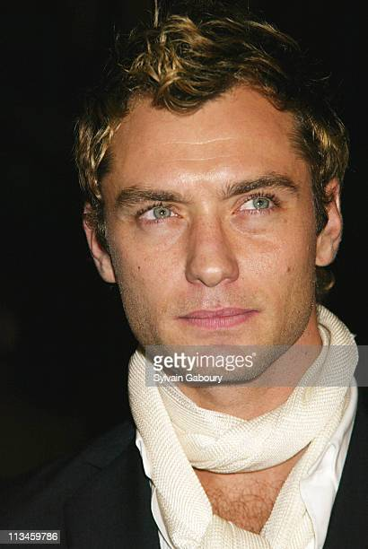Jude Law during Paramount premiere of Alfie at Ziegfeld Theater in New York New York United States