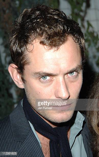 Jude Law during 'Why Not' Charity Event November 25 2005 at Westbourne Studios in London Great Britain