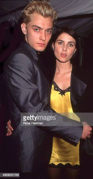 Jude Law his wife Sadie Frost late 1990s or early 2000s