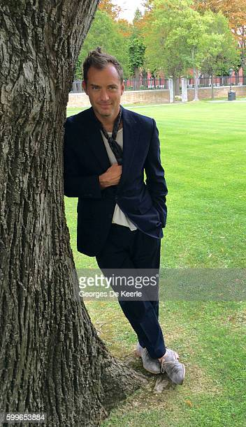 Jude Law is seen at San Clemente Kempinski Palace during the 73rd Venice Film Festival at on September 5 2016 in Venice Italy