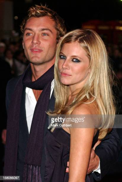 Jude Law Sienna Miller Attend The 'Alfie' World Film Premiere In London'S Leicester Square