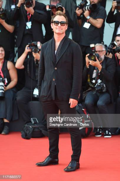 Jude Law walks the red carpet ahead of The New Pope screening during the 76th Venice Film Festival at Sala Grande on September 01 2019 in Venice Italy