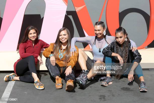 Jude Schimmel Tracie Jackson Sarain Fox and Shiloh Lebeau attend the Teen Vogue Summit 2019 at Goya Studios on November 02 2019 in Los Angeles...