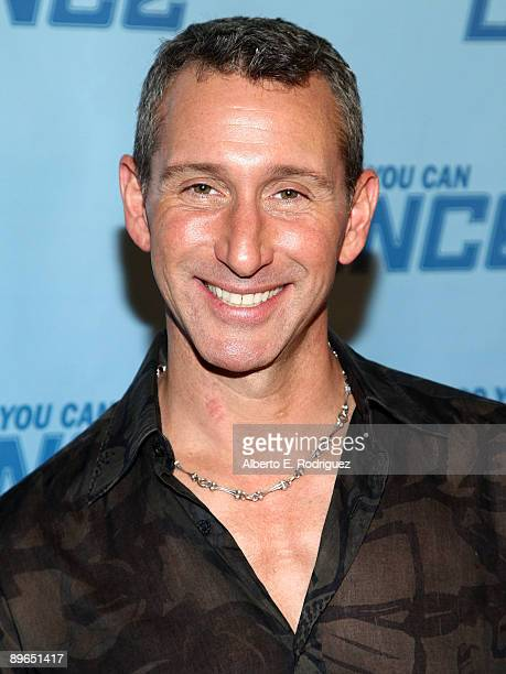 TV judge Adam Shankman arrives at the finale of So You Think You Can Dance held at the Kodak Theater on August 6 2009 in Hollywood California