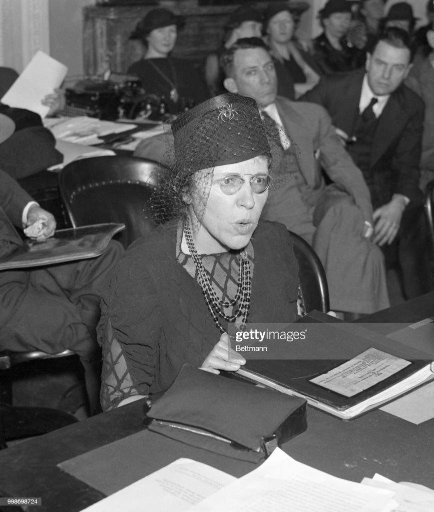 Judge Anna M. Kross, City Magistrate, Women's Court, New