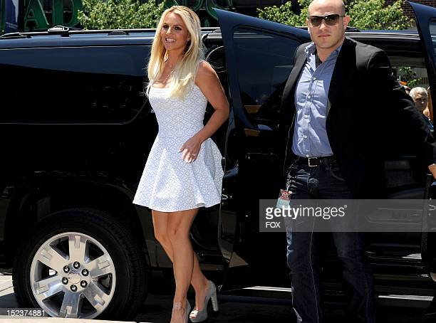 FACTOR Judge Britney Spears at THE X FACTOR airing Wednesday Sep 19 2012 on FOX