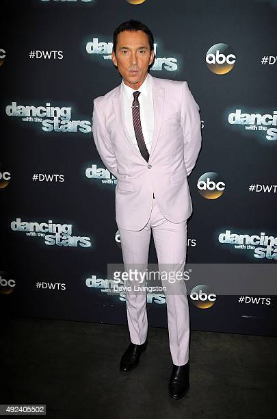 DWTS judge Bruno Tonioli attends 'Dancing with the Stars' Season 21 at CBS Television City on October 12 2015 in Los Angeles California