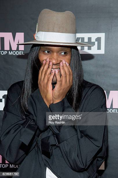 ANTM judge celebrity stylist Law Roach attends VH1's 'America's Next Top Model' Premiere at Vandal on December 8 2016 in New York City