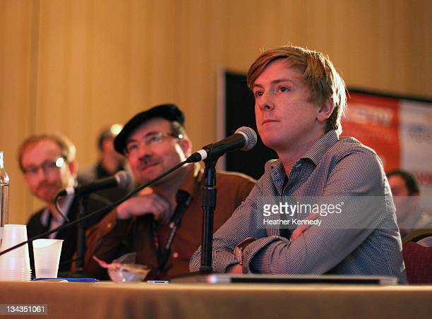 Judge Chris Hughes attends the 2011 SXSW Music Film Interactive Festival Accelerator at Hilton Hotel on March 14 2011 in Austin Texas