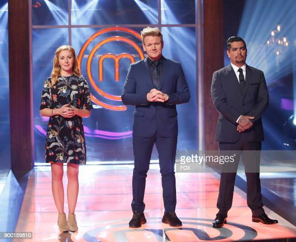 judge Christina Tosi host / Judge Gordon Ramsay and judge Aaron Sanchez in the allnew The Finale Pt 1/The Finale Pt 2 twohour season finale episode...