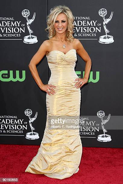 Judge Cristina Perez arrives at the 36th Annual Daytime Emmy Awards at The Orpheum Theatre on August 30 2009 in Los Angeles California