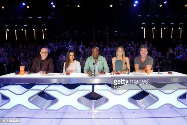 S GOT TALENT Judge Cuts Episode 1211 Pictured Howie Mandel Mel B Seal Heidi Klum Simon Cowell