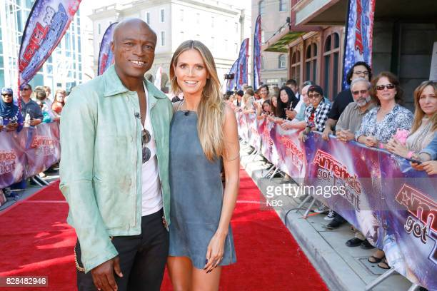 S GOT TALENT 'Judge Cuts' Episode 1211 Pictured Seal Heidi Klum