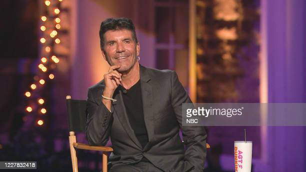 """Judge Cuts"""" Episode 1509 -- Pictured in this screen grab: Simon Cowell --"""