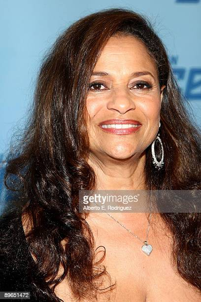 TV judge Debbie Allen arrives at the finale of So You Think You Can Dance held at the Kodak Theater on August 6 2009 in Hollywood California