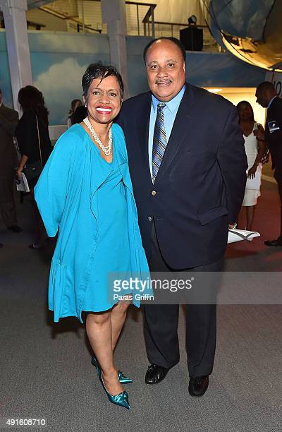 Judge Glenda A Hatchett and Martin Luther King III attend Grounded in History Soaring into the Future Rev Joseph E Lowery's 94th Birthday Celebration...