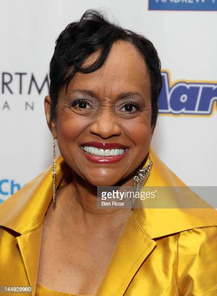 Judge Glenda Hatchett arrives at The Andrew Young Foundation's celebration of the 80th birthday of Andrew Young at The Hyatt Regency Atlanta on May...