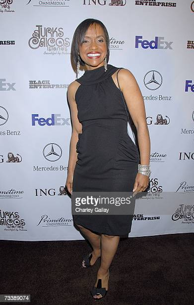 Judge Glenda Hatchett arrives at the Black Enterprises Top 50 Hollywood Power Brokers Celebration at the Beverly Wilshire Hotel on February 21 2007...