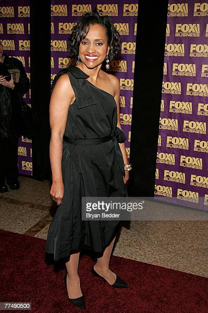 Judge Glenda Hatchett arrives at the Fox Business Network launch party at the Metropolitain Museum of Arts on October 24 2007 in New York City