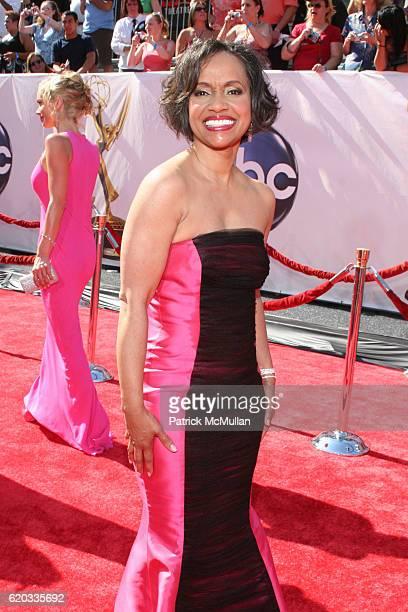 Judge Glenda Hatchett attends 2008 Daytime Emmy Awards at Kodak Theatre on June 20 2008 in Hollywood CA