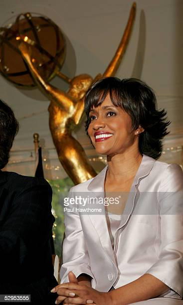 Judge Glenda Hatchett attends a reception in honor of the 32nd Annual Daytime Emmy's at Gracie Mansion May 19 2005 in New York City