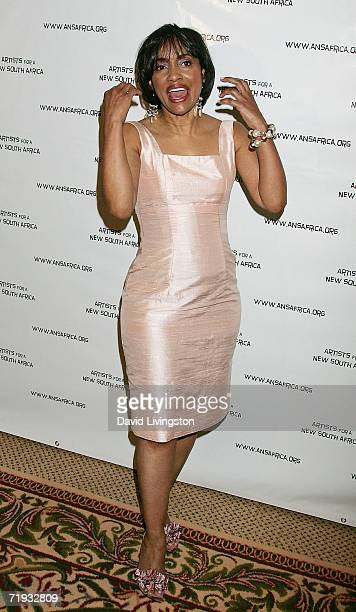 Judge Glenda Hatchett attends Archbishop Desmond Tutu's 75 birthday gala fundraiser Tutu One Amazing Night of Celebration hosted by Artists for a New...