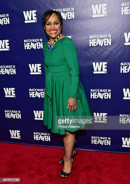 Judge Glenda Hatchett attends Match Made In Heaven screening and reception at the Twelve Hotel on January 29 2015 in Atlanta Georgia