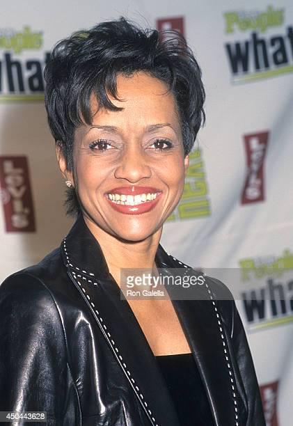 Judge Glenda Hatchett attends Teen People's Third Annual What's Next Issue Party on November 14 2001 at Hammerstein Ballroom in New York City
