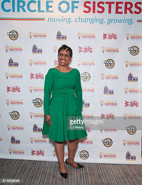 Judge Glenda Hatchett attends the '2016 Circle of Sisters' at Jacob Javits Center on October 15 2016 in New York City