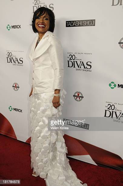 Judge Glenda Hatchett attends the 20th Annual Divas Simply Singing AIDS Benefit Arrivals at Saban Theatre on October 9 2010 in Beverly Hills...