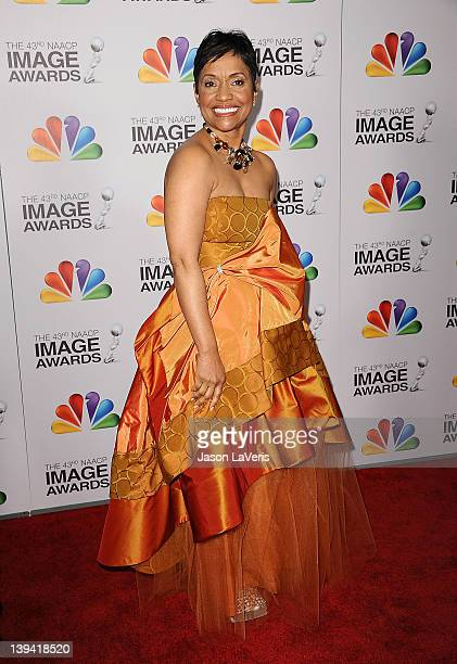 Judge Glenda Hatchett attends the 43rd annual NAACP Image Awards at The Shrine Auditorium on February 17 2012 in Los Angeles California